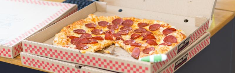 Pizza krabice s potiskem